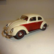 Slot Cars: PINK KAR. VW BEETLE. Lote 190870007