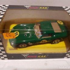 Slot Cars: FERRARI 250 GTO DE PINK-KAR REF.-CV009. Lote 190982935