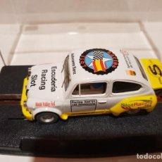 Slot Cars: FIAT ABARTH 1000 TCR DE REPROTEC 24H RESISTENCIA ALCORCÓN. Lote 287483443