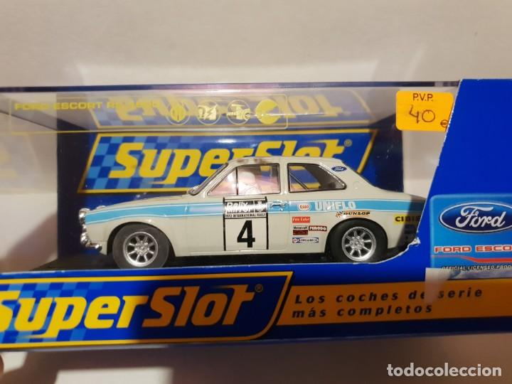 Slot Cars: FORD ESCORT RS 1600 SUPERSLOT REF.-H2643 - Foto 1 - 190984478