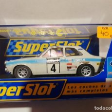 Slot Cars: FORD ESCORT RS 1600 SUPERSLOT REF.-H2643. Lote 190984478