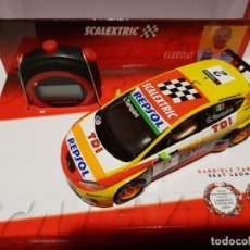 Slot Cars: PACK SEAT LEÓN + CRONÓMETRO SCALEXTRIC REF.-6479. Lote 190985345
