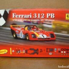 Slot Cars: SLOT IT FERRARI 312PB REF SIKF01C NUEVO CON SU CAJA ORIGINAL. Lote 191356380