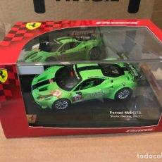 """Slot Cars: CARRERA FERRARI 458 GT2 """"KROHN RACING NO.57"""". Lote 191398473"""