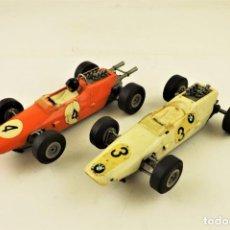 Slot Cars: SLOT STABO PAREJA DE BMW F2 LOLA Nº 3 Y Nº 4. Lote 191575803