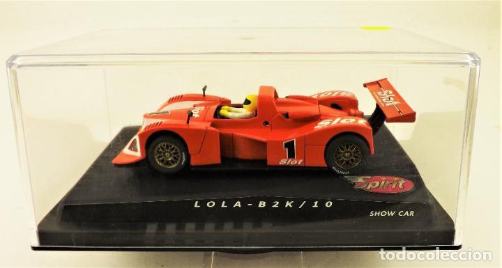 Slot Cars: Slot Spirit Lola B2K 10 Edición Mas Slot - Foto 2 - 191672986