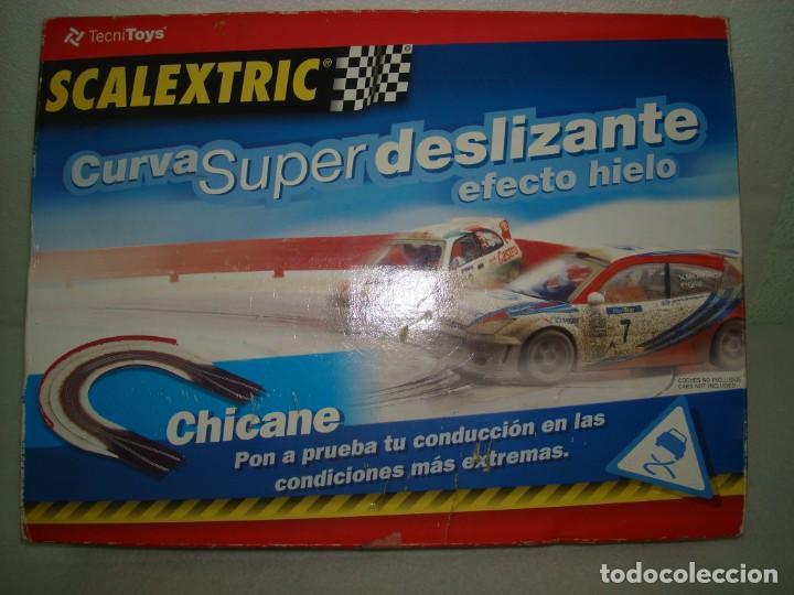 CURVA SUPER DELIZANTE EFECTO HIELO (Juguetes - Slot Cars - Magic Cars y Otros)