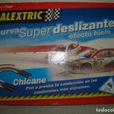 Slot Cars: CURVA SUPER DELIZANTE EFECTO HIELO. Lote 192025008
