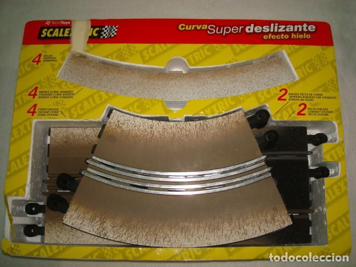 Slot Cars: CURVA SUPER DELIZANTE EFECTO HIELO - Foto 5 - 192025008