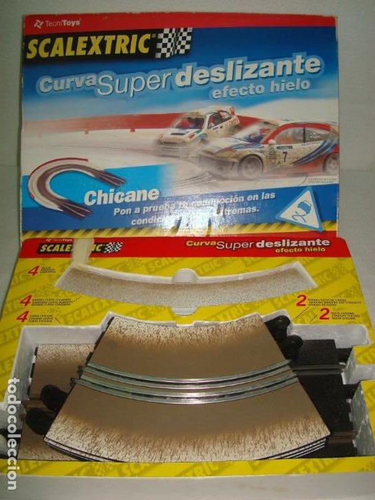 Slot Cars: CURVA SUPER DELIZANTE EFECTO HIELO - Foto 6 - 192025008