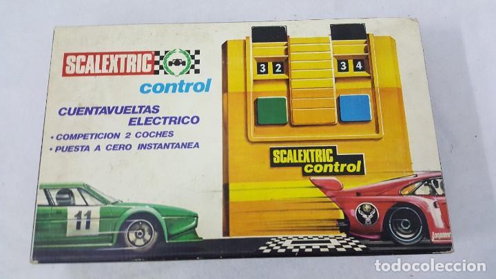 CUENTA VUELTAS ELECTRICO (Juguetes - Slot Cars - Magic Cars y Otros)