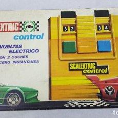 Slot Cars: CUENTA VUELTAS ELECTRICO. Lote 192025172