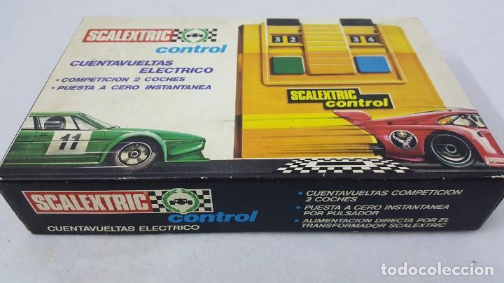 Slot Cars: CUENTA VUELTAS ELECTRICO - Foto 2 - 192025172