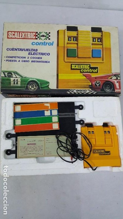 Slot Cars: CUENTA VUELTAS ELECTRICO - Foto 4 - 192025172