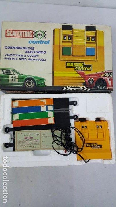Slot Cars: CUENTA VUELTAS ELECTRICO - Foto 5 - 192025172
