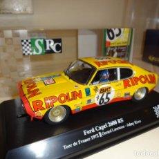 Slot Cars: SRC. FORD CAPRI 2600 RS. TOUR DE FRANCE 1972. LARROUSSE-RIVES. REF. 003-02. Lote 221737856