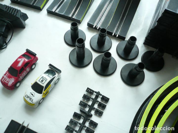 Slot Cars: CIRCUITO DE CARRERAS ARTIN. SIN CAJA. FUNCIONA. 71 PIEZAS - Foto 11 - 193035732