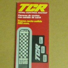 Slot Cars: PISTA DE CIRCUITO TCR,,,MODEL-IBER..BARCELONA...EN CAJA SIN USO.. Lote 217287343