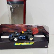 Slot Cars: SUPERSLOT FORMULA 1 NEGRO NUMERO 16 KÖTZING SPSTEMS. Lote 193584652