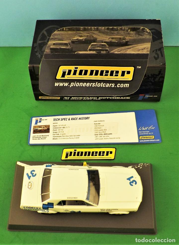 Slot Cars: slot Pioneer Ford Mustang Notchback del 67 - Foto 8 - 255917315