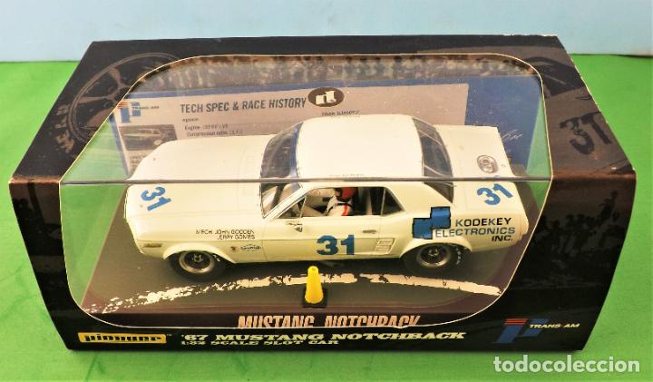 Slot Cars: slot Pioneer Ford Mustang Notchback del 67 - Foto 9 - 255917315