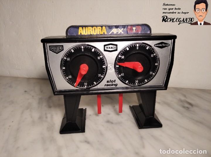 CUENTA VUELTAS SLOT AURORA AFX (FUNCIONA) (Juguetes - Slot Cars - Magic Cars y Otros)