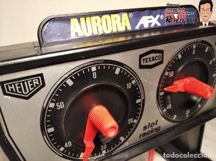 Slot Cars: CUENTA VUELTAS SLOT AURORA AFX (FUNCIONA) - Foto 3 - 193920748