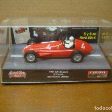 Slot Cars: CARTRIX ALFA ROMEO G.FARINA FOROSLOT MADRID REF 0033 PRECINTADO. Lote 193964257