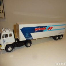 Slot Cars: SCALEXTRIC. SUPERSLOT. CAMION LEYLAND ASISTENCIA F1 PARMALAT. Lote 194217172