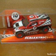 Slot Cars: EXIN TOUREG CLUB SCALEXTRIC 2010 NUEVO CON SU CAJA ORIGINAL. Lote 194218331