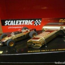 Slot Cars: SCALEXTRIC FERRARI 156 50 ANIVERSARIO NUEVO CON SU CAJA ORIGINAL. Lote 194220822