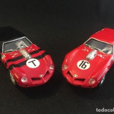 Slot Cars: LOTE DE 2 FERRARI BREADVAN SLOT REAL CAR. Lote 194233842