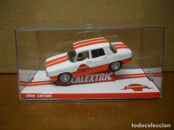 SCALEXTRIC RENAULT 8 CLUB SCALEXTRIC 2009 NUEVO CON SU CAJA ORIGINAL (Juguetes - Slot Cars - Magic Cars y Otros)