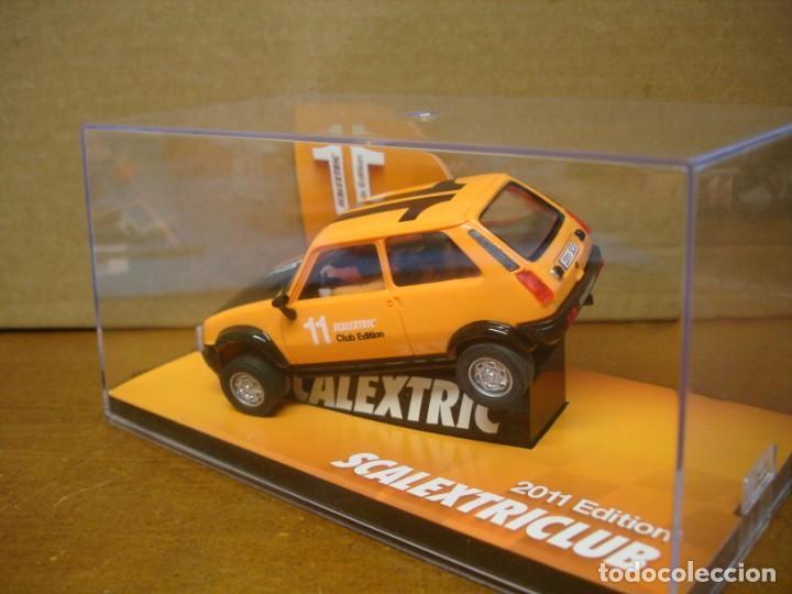 Slot Cars: SCALEXTRIC RENAULT 5 CLUB SCALEXTRIC 2011 NUEVO CON SU CAJA ORIGINAL - Foto 3 - 194236288