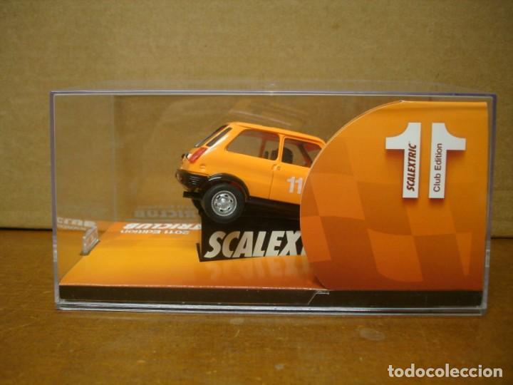 Slot Cars: SCALEXTRIC RENAULT 5 CLUB SCALEXTRIC 2011 NUEVO CON SU CAJA ORIGINAL - Foto 4 - 194236288