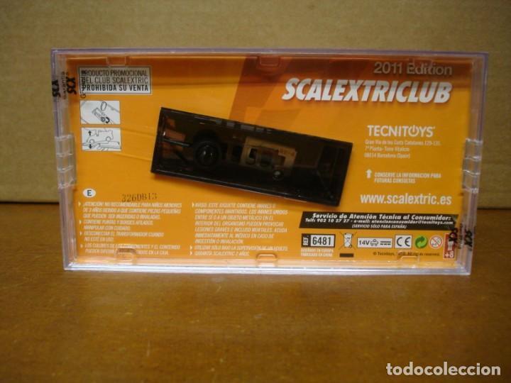 Slot Cars: SCALEXTRIC RENAULT 5 CLUB SCALEXTRIC 2011 NUEVO CON SU CAJA ORIGINAL - Foto 5 - 194236288