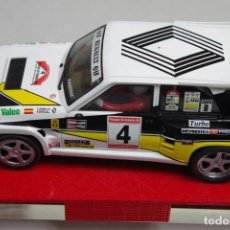 Slot Cars: SCALEXTRIC RENAULT 5 MAXITURBO MODIFICADO. Lote 194294533