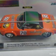 Slot Cars: SCALEXTRIC SRC- OSC PORSCHE 914 /6 GT + CHASIS EXTRA. Lote 194294797