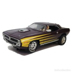 Slot Cars: CARRERA EVOLUTION PLYMOUTH HEMI CUDA 1970 1:32 SLOT CAR SCALEXTRIC SCX. Lote 194303446