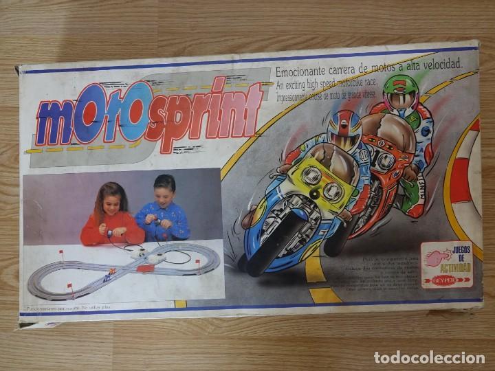MOTO SPRINT JUEGOS DE ACTIVIDAD DE GEYPER PISTA DE MOTOS (Juguetes - Slot Cars - Magic Cars y Otros)