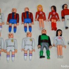 Slot Cars: LOTE VARIADO DE AIRGAM BOYS - FUTBOL BARCELONA / R. MADRID, OTROS ... - ORIGINALES, ANTIGUOS ¡MIRA!. Lote 194338218