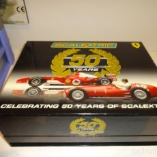 Slot Cars: SUPERSLOT. SET FERRARI 50 AÑOS SCALEXTRIC. REF. C2782A. Lote 194519037