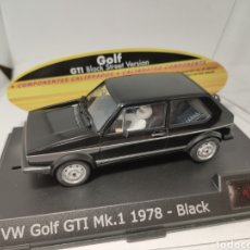 Slot Cars: SPIRIT VW GOLF GTI MK1 1978 NEGRO SCALEXTRIC. Lote 194630343