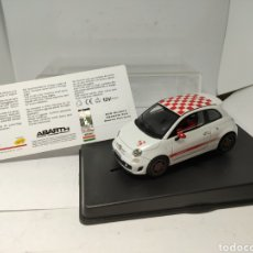 Slot Cars: RACER FIAT ABARTH 500 ROMEO FERRARIS SLOT CARS. Lote 194631871