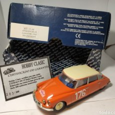 Slot Cars: HOBBY CLASSIC CITROEN DS19 GANADOR 1959 RESINA REF. CL-08 300 UNIDADES. Lote 194633427