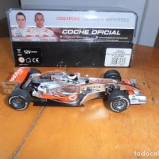 Slot Cars: VODAFONE MCLAREN MERCEDES - SUPERSLOT - COCHE OFICIAL - F. ALONSO. Lote 194695865