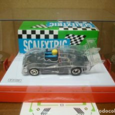 Slot Cars: SCALEXTRIC ALPINE RENAULT TRANSPARENTE NUEVO CON SU CAJA ORIGINAL. Lote 194728203