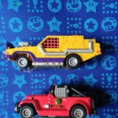 Slot Cars: DOS COCHES DE PISTA. Lote 194760447