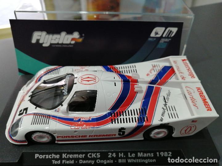 Slot Cars: PORSCHE KREMER CK5 DE LE MANS 82 DE FLYSLOT - Foto 4 - 194777425