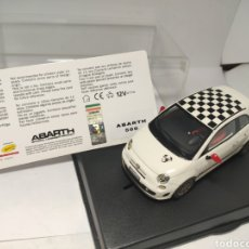Slot Cars: RACER SLOT CARS FIAT ABARTH 500 SILVER LINE. Lote 194781048